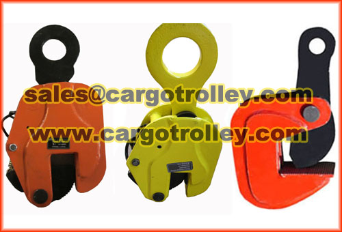 Steel Lifting Clamps For Transport Works