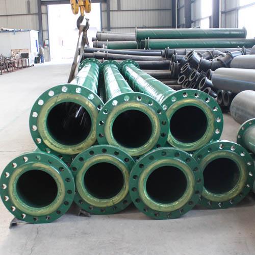 Steel Lining Pu Wear Resistant Pipe