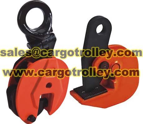 Steel Plate Lifting Clamps Adopt For Plates