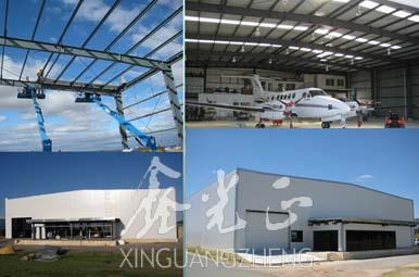 Steel Structure Aircraft Hangar Xinguangzheng