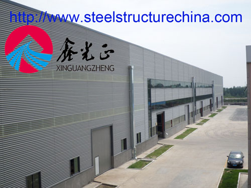 Steel Structure Workshop Factory Design Manufacture And Installation