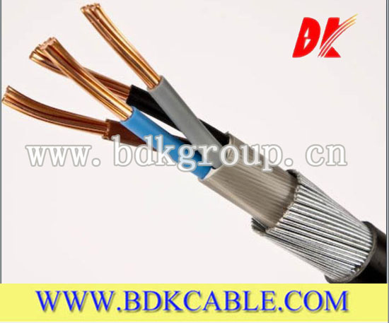 Steel Wire Armoured Cable Bs5467 Pvc Jacket