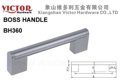 Steel Zinc Boss Handle Cabinet Furniture