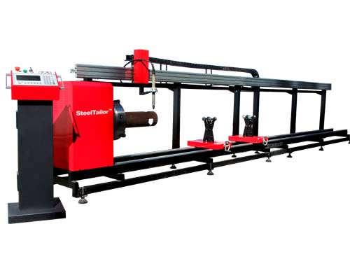 Steeltailor Tubetailorii Cnc Tube Cutting Machine