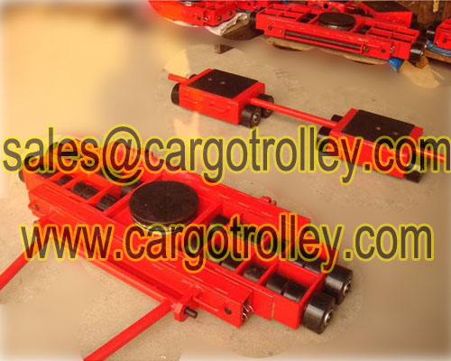 Steerable Machiney Skates Also Know As Three Point Moving Tools