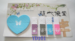 Sticky Notes Paper Cube Pet Stickers Memo Note