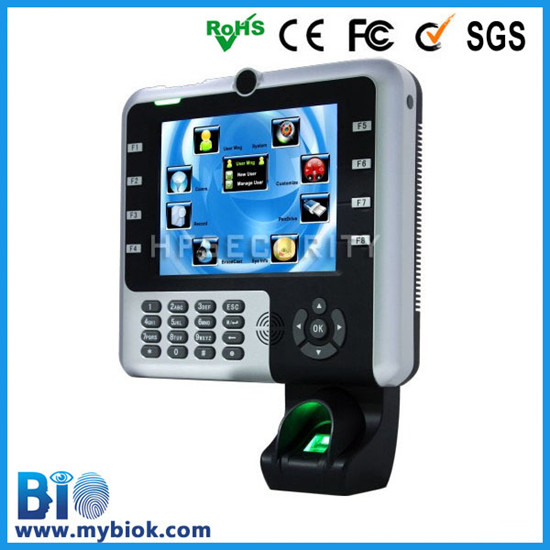 Stocked Fingerprint Detection Time Register With Id Card Standard Hf Iclock2500