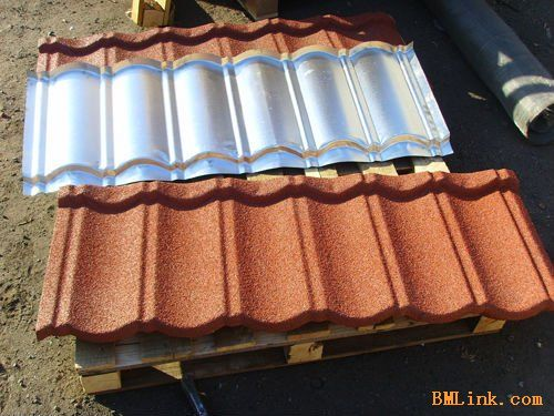 Stone Coated Metal Roof Tile Classic