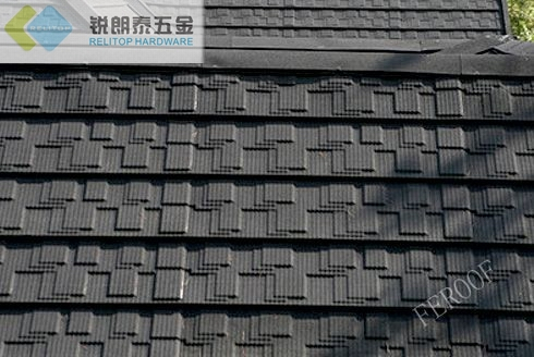 Stone Coated Metal Roof Tile Flat