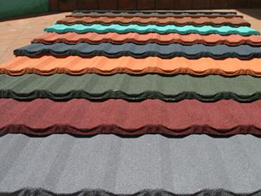 Stone Coated Metal Roof Tile Rosen