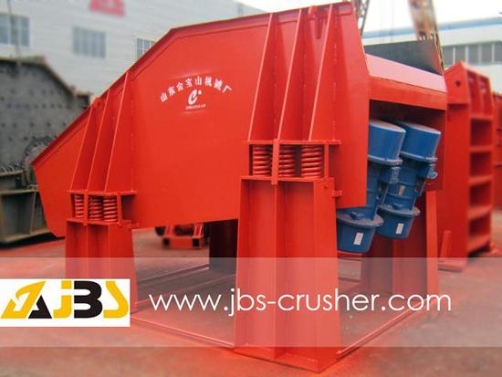 Stone Crusher Vibrating Motor Feeder