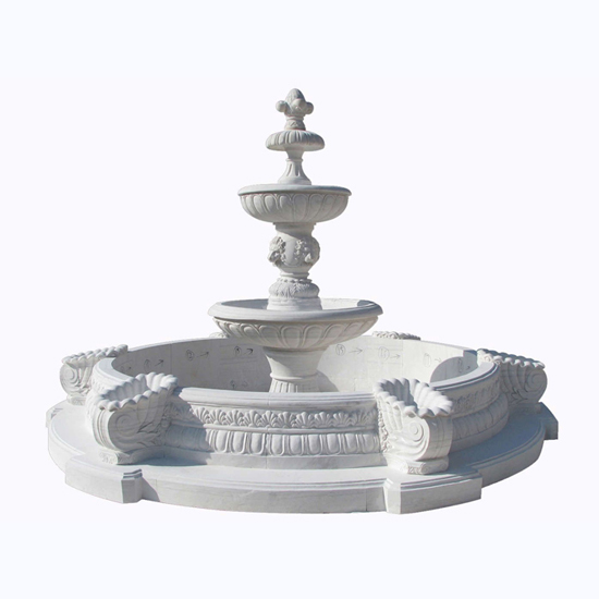 Stone Fountain Marble Carving Garden