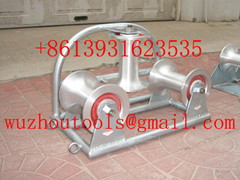 Straight Cable Roller Manhole Quadrant