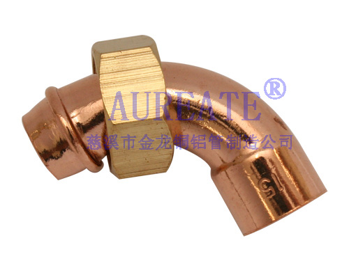 Straight Cylinder Bent Copper Fitting