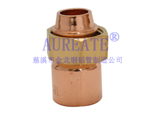Straight Cylinder Unions Cxf1 Copper Fitting
