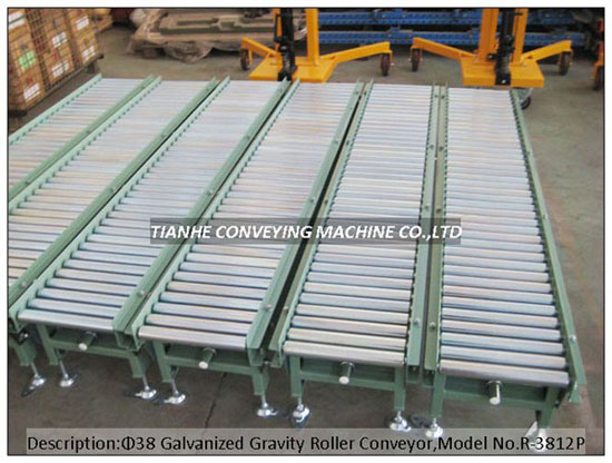 Straight Gravity Roller Conveyor Free