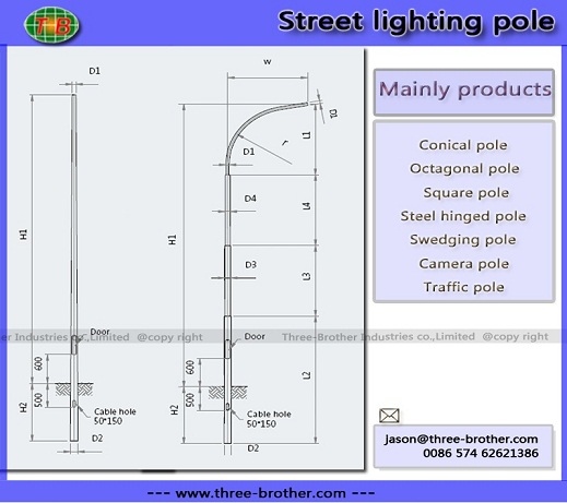 Street Lighting Pole 02 Produce According To Customers Requirements