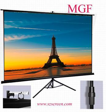 Strong Portable Tripod Projection Screen