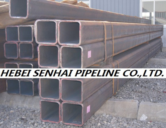 Structure Pipes Square Rectangular Hollow Sections Astm A500 Gr A B C D