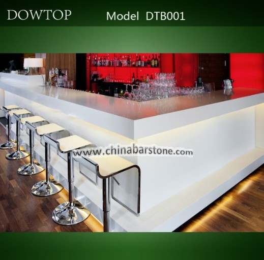 Stylish Restaurant Design Modern Bar Counter