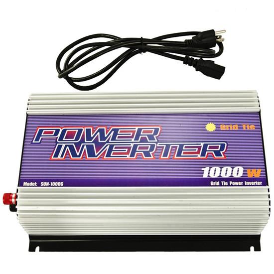 Sun Gold Power 1000w Grid Tie Inverter For Wind System Dc Ac Input 22v 60v