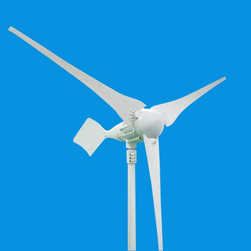 Sun Gold Power 1000w Horizontal Axis Wind Turbine Generator 24v Ac 3 Blades