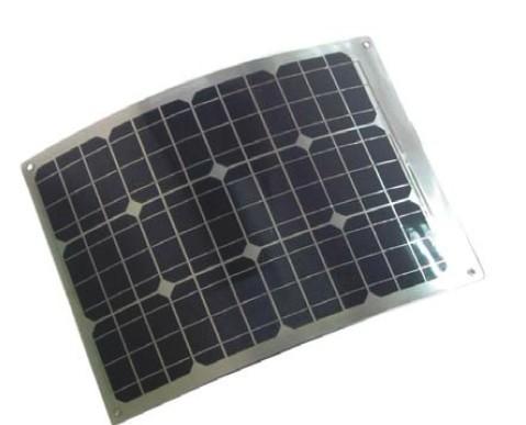Sun Gold Power 50w Mono Crystalline Semi Flexible Solar Panel Module