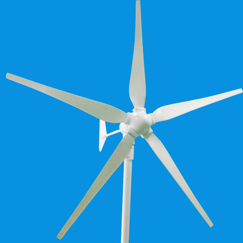 Sun Gold Power 600w Horizontal Axis Wind Turbine Generator 12v Ac 5 Blades