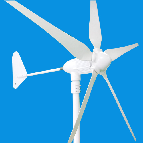 Sun Gold Power 600w Horizontal Axis Wind Turbine Generator 24v Ac 5 Blades