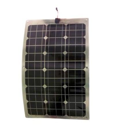 Sun Gold Power 60w Mono Crystalline Semi Flexible Solar Panel Module