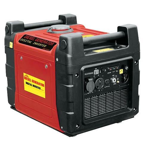 Sun Gold Power 6kw Silent Petrol Digital Inverter Portable Generator