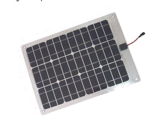 Sungold Power 30w Mono Crystalline Semi Flexible Solar Panel Module