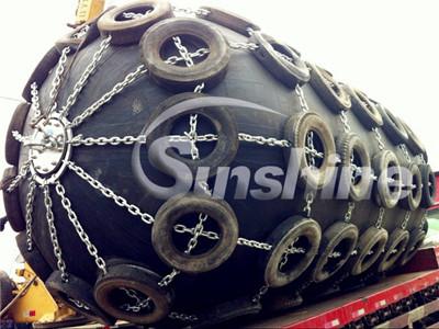 Sunshine Marine Pneumatic Rubber Fender For Sale
