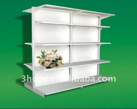 Supermarket Shelves Trolleys Storage Racks And So On