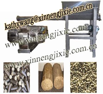 Supply Biomass Briquette Machine