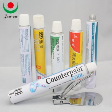 Supply Collapsible Aluminum Pharmaceutical Tubes Packaging
