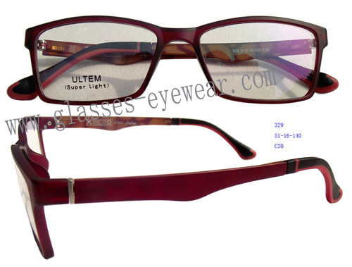 Supply Fashion Light Ultem Optical Frames Model 329