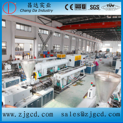 Supply Good Quality Pvc Pipe Extrusion Line For You