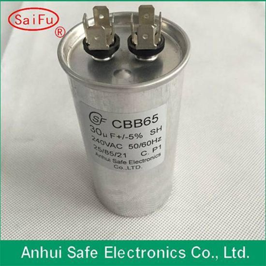 Supply High Quality Aluminum Shell Cbb65 Mpp Capacitor Electric
