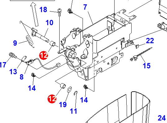 Supply Komatsu Pc220 7 Hydraulic Lock Bearing