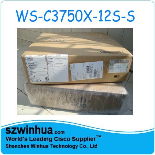 Supply Original Cisco Ws C3750x 12s S