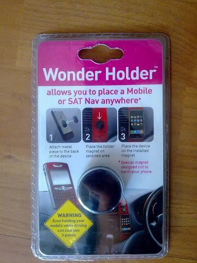 Supplying Wonder Phoner Holder