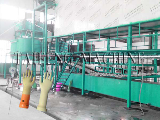 Surgical And Examination Glove Production Line