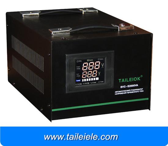 Svc E Servo Motor Digital Display Voltage Stabilizer