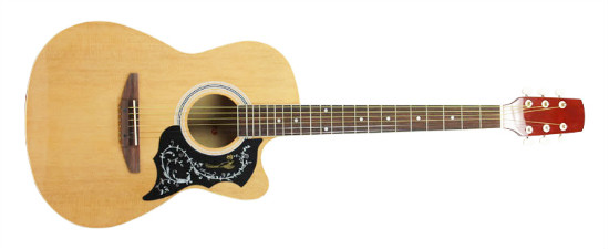 Sw39 213c Jumbo Body 39 Cutaway Acoustic Guitar