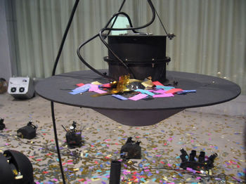Swirl Confetti Machine