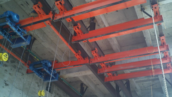 Sxg Electric Cross Rail Crane 16t