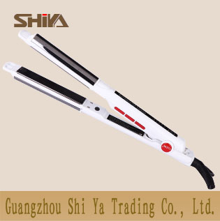 Sy 869b Shiya China Hair Straightener Newest Design Flat Irons And Curler In One