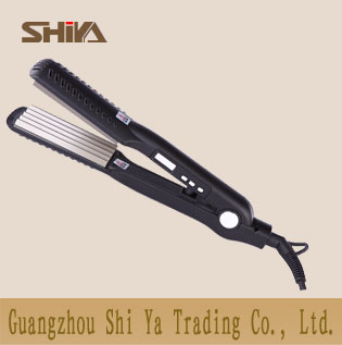 Sy 890b Shiya Hair Straightener Manufacturer Corn Plate 3 Heat Grade Setting
