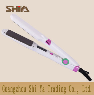 Sy 893 Shiya Hair Straightener Flat Irons Manufacturer Adjustable Temperature